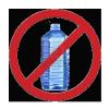 No Water Bottles