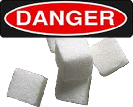 Danger - Excess Sugar