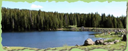 Mountain Lake - taken by Micheal Tomberlin