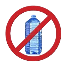Image Gallery no water bottles