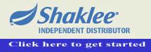 shaklee independent distributor, shaklee, home business