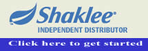 shaklee independent distributor, shaklee, home business